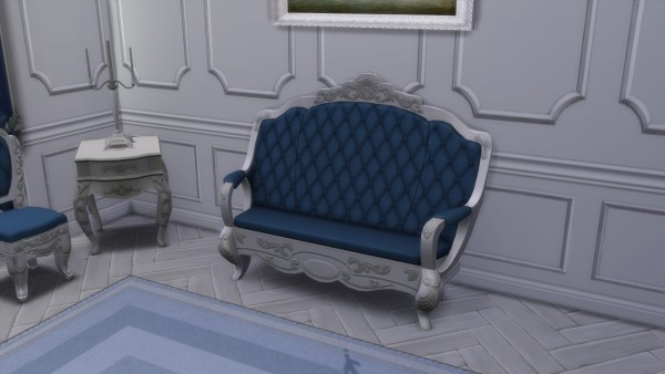 Mod The Sims: The Emperor's Rest Loveseat  by TheJim07