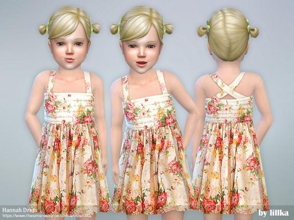 The Sims Resource: Hannah Dress by lillka