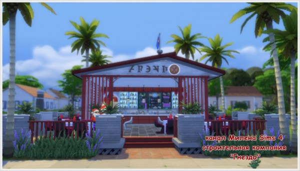 Sims 3 by Mulena: Restaurant PAZLE