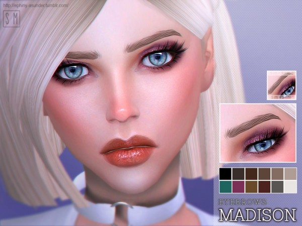 The Sims Resource: Madison    Eyebrow by Screaming Mustard