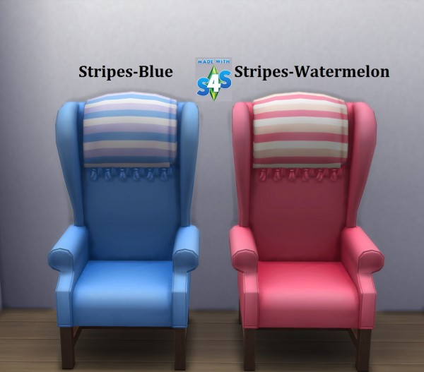 Mod The Sims: Big Cozy Chair 15 Recolours by wendy35pearly