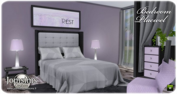 Jom Sims Creations: Placwel bedroom