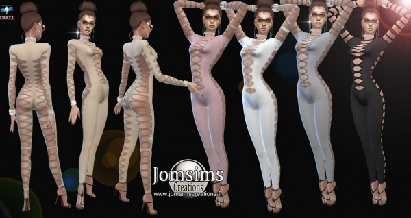 Jom Sims Creations: Aleseya jumpsuit