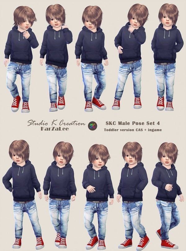 Studio K Creation: Pose Set 4 toddler version