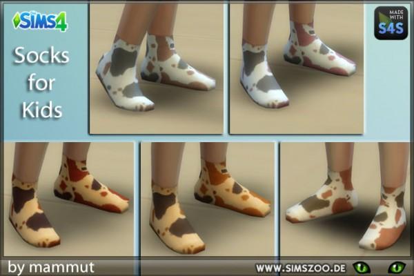 Blackys Sims 4 Zoo: Spotty Socks by mammut