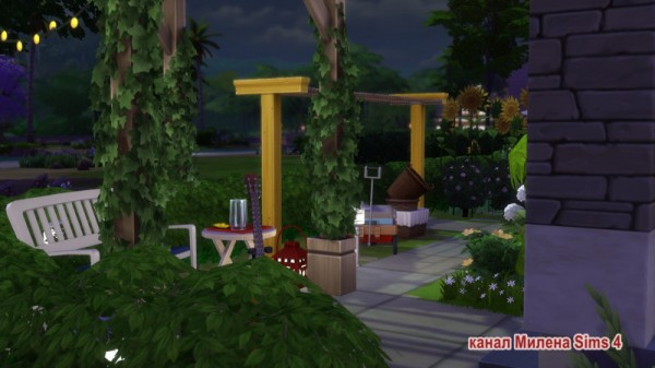 Sims 3 by Mulena: House from the series Teenage Love noCC