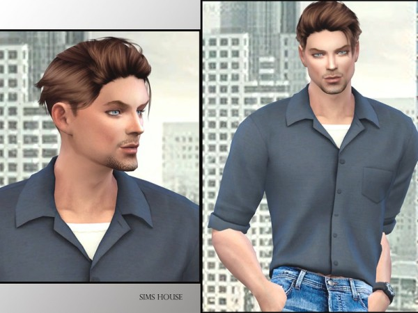 The Sims Resource: John Shepard by Sims House