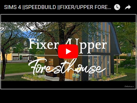 Ideassims4 art: Upper forest house
