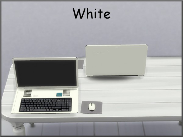 Mod The Sims: Bodkin Laptop Computer by augold44