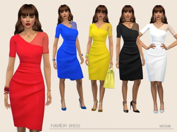 The Sims Resource: Fashion Dress by Paogae