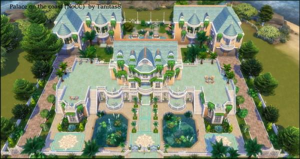 Tanitas Sims: Palace on the coast   NoCC
