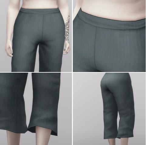 Rusty Nail: Linen pants