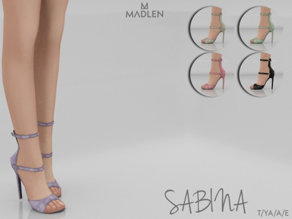 The Sims Resource: Madlen Sabina Shoes by MJ95