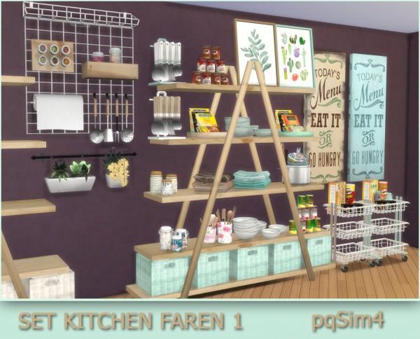PQSims4: Set Faren Kitchen 1
