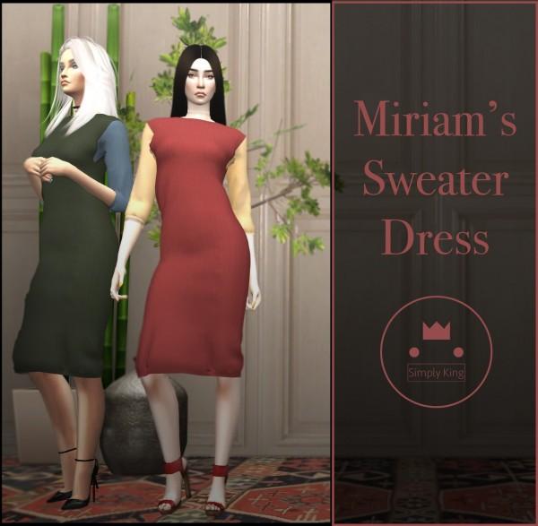 Simply King: Miriam's Sweater Dress