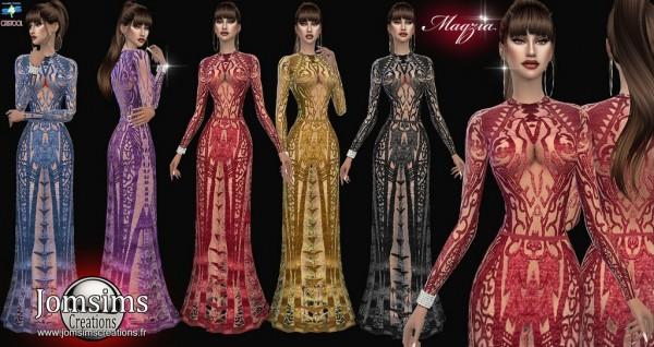 Jom Sims Creations: Magzia dress