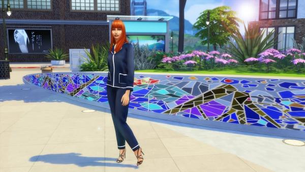 Sims Artists: The Sleepwear trend