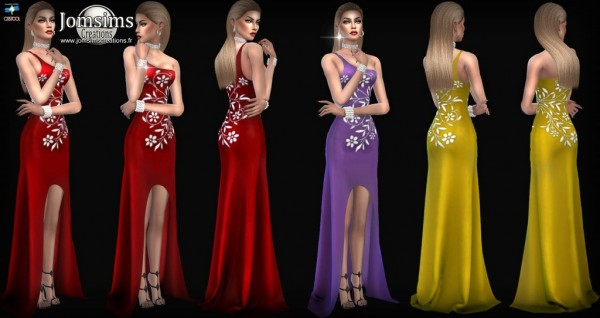 Jom Sims Creations: Gaellia dress