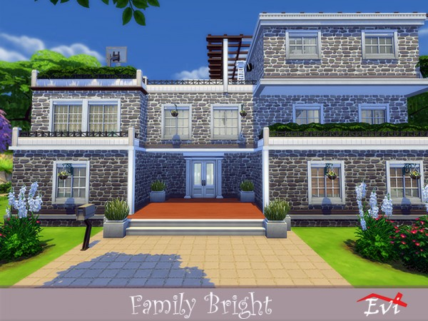 The Sims Resource: Family Bright house by evi