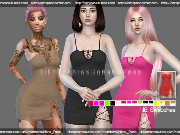 The Sims Resource: Jonah Dress by Nitro Panic
