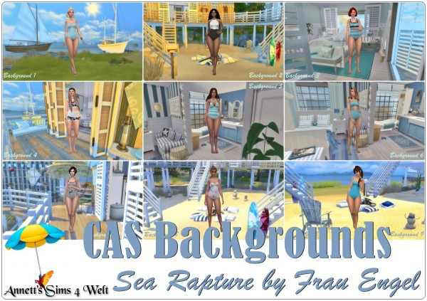 Annett`s Sims 4 Welt: CAS Backgrounds   Sea Rapture