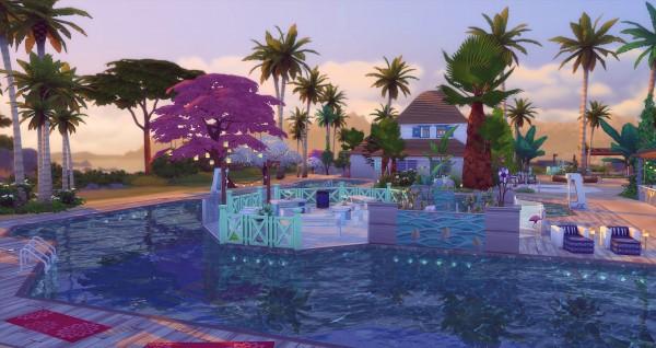 Studio Sims Creation: Aloha Resort Park