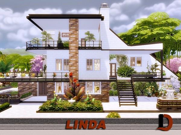 The Sims Resource: Linda house by Danuta720