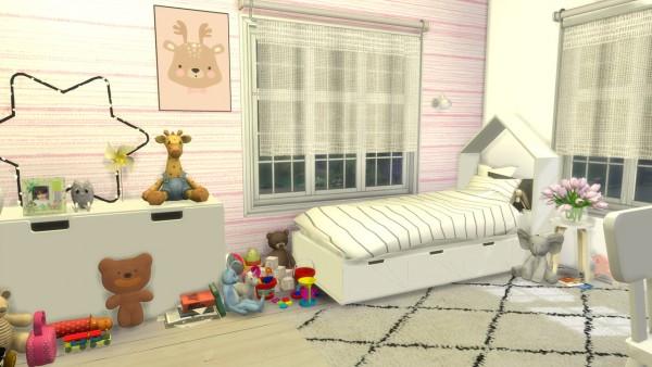 Models Sims 4: Girls bedroom Family House