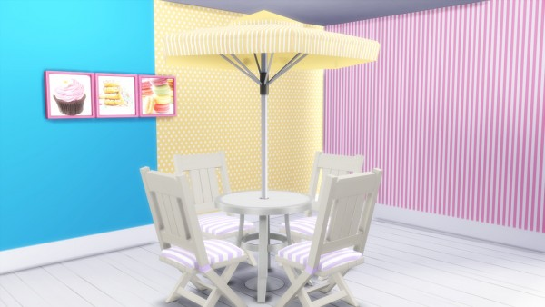 Simming With Mary: Stripes and Dots outdoor