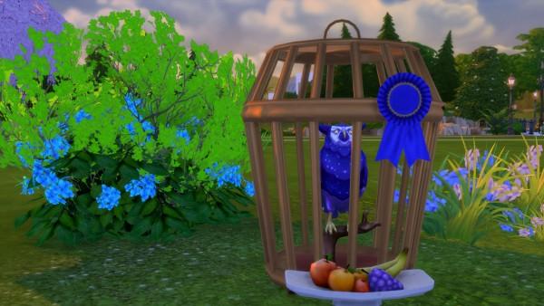 Mod The Sims: Sturdy Birdie Bird Cage by Snowhaze