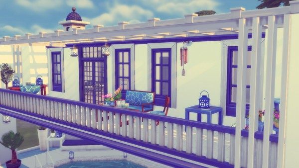 Simming With Mary: Summer Villa
