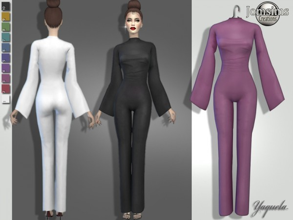 The Sims Resource: Yaquela jumpsuit by jomsims