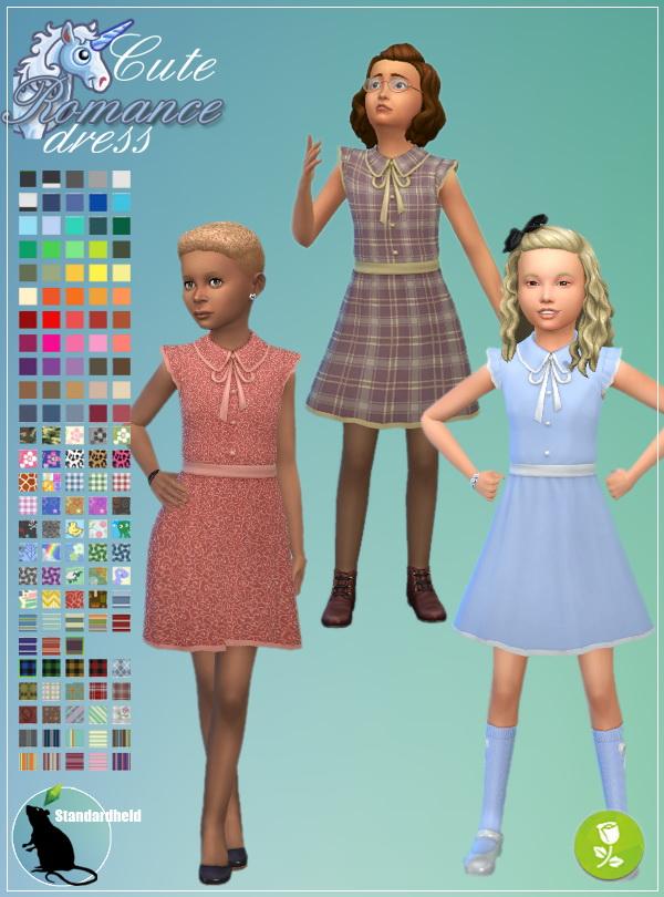 Simsworkshop: Cute Romance Dress by Standardheld
