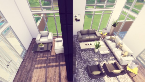 Simming With Mary: L`Olivier house