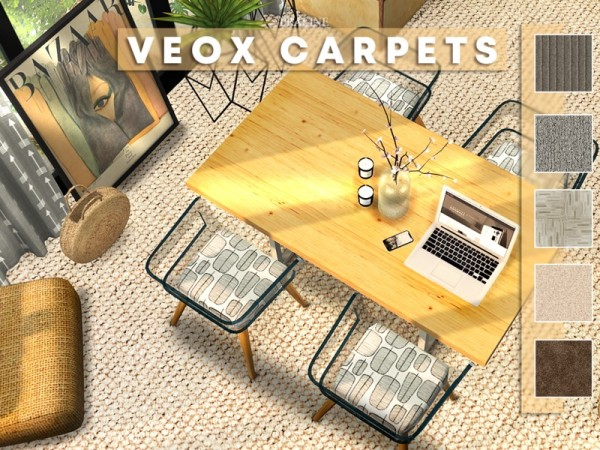 The Sims Resource: VEOX Carpets by Pralinesims