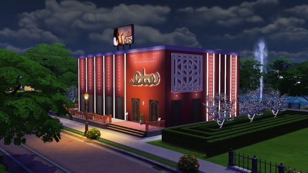 Mod The Sims: Restaurant Delissimo (No CC) by Brinessa