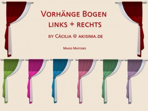 Akisima Sims Blog: Curtain – Bogen
