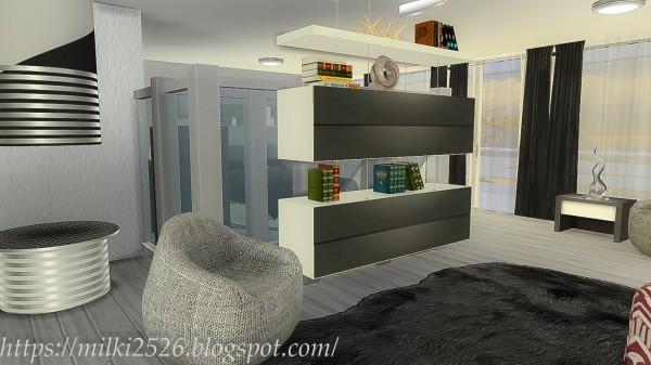 Milki2526: Modern house Stefania