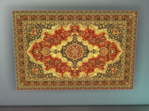 Mod The Sims: Traditional Russian Style Wall Rug by scottiedoag