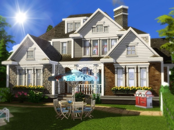 The Sims Resource: Blackberry Cottage by MychQQQ