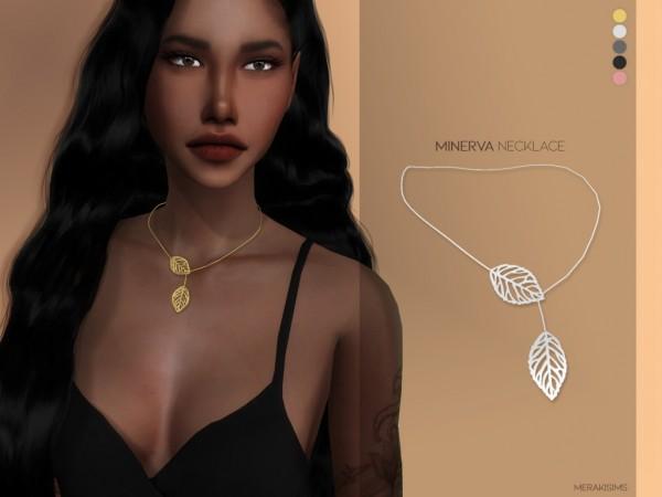 Merakisims: Minerva necklace