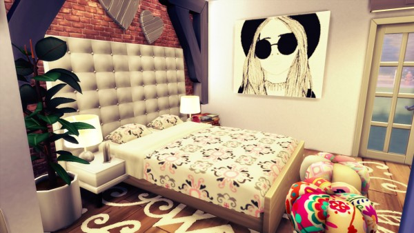 Agathea k: Raw LovE bedroom