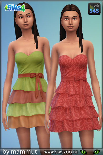 Blackys Sims 4 Zoo: Dress Natur 2 bymammut
