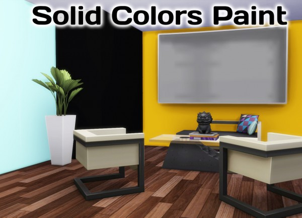 Simming With Mary: Solid Colors Paint