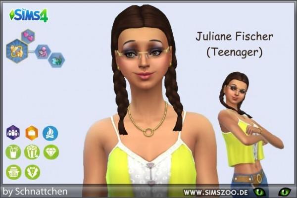 Blackys Sims 4 Zoo: Juliane Fischer by Schnattchen