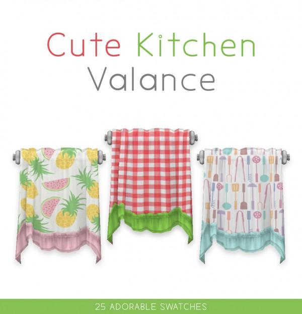 Simplistic: Cute Kitchen Valance