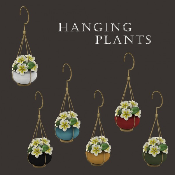 Leo 4 Sims: Hanging plants