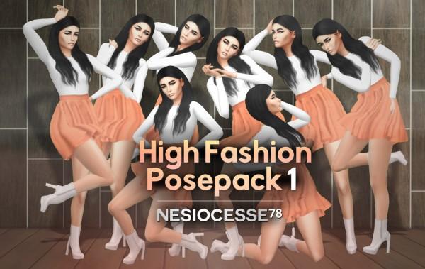 Nesiocesse78: High fashion pose pack 1