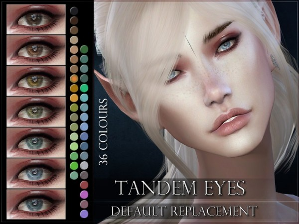 The Sims Resource: Tandem Eyes by RemusSirion