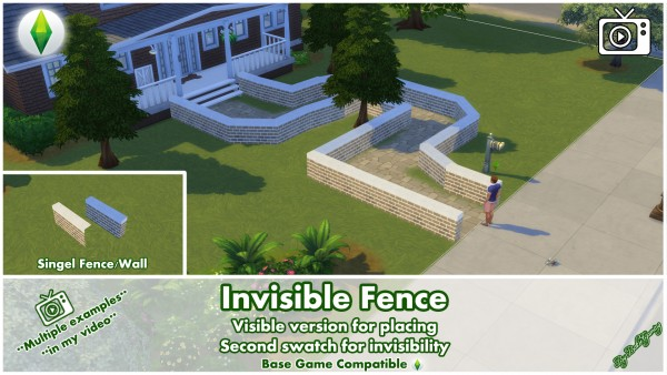 Mod The Sims: Invisible Fence by Bakie